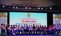 Organizan diversas actividades en apoyo a los trabajadores necesitados en Vietnam