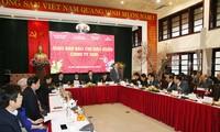 Evalúan trabajo periodístico en saludo al Año Nuevo Lunar en Vietnam