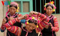 Ricos colores culturales reflejados en las festividades del Año Nuevo Lunar de las etnias vietnamitas