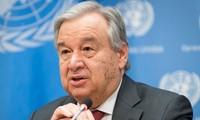 Líder de la ONU anuncia prioridades de la organización para 2020
