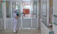 Doctores en el frente contra la epidemia de Covid-19