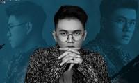 El joven artista Charles Huynh