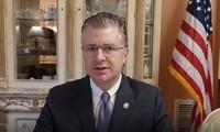 Diplomático estadounidense valora de excelente el trabajo de Vietnam en el control del coronavirus