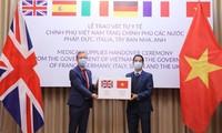 Medio estadounidense resalta apoyo de Vietnam a países en el combate antiepidémico