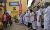 Sin nuevos contagios y cinco casos curados vuelven a dar positivo en Vietnam