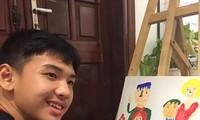 """Exposición en línea """"Hung Nang"""" explora el mundo de """"artistas"""" autistas"""