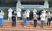 Otros ocho pacientes de coronavirus se recuperan completamente en Vietnam