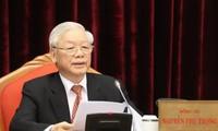 Culmina XII Pleno del Comité Central del Partido Comunista de Vietnam