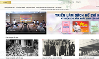 Exponen en línea libros sobre el presidente Ho Chi Minh