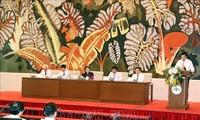 Presidenta del Parlamento vietnamita se reúne con periodistas veteranos y más destacados del país