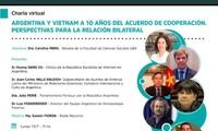 Revisan las relaciones Vietnam-Argentina a 10 años del acuerdo de cooperación