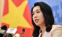 Vietnam aplaude las posiciones acordes a las leyes internacionales sobre el Mar del Este