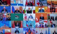 G20 promete hacer todo lo posible para aminorar los riesgos de un declive económico mundial