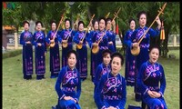 Un club activo en la preservación del arte tradicional en Cao Bang