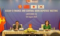 En Hanói conferencia de subministros de Finanzas y vicegobernadores de Bancos Centrales de la Asean y socios