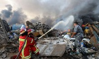 Tragedia en Beirut se debe a la detonación de un gigante almacén de explosivos