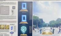 Diseños para señalizar el Kilómetro Cero: futura seña de identidad cultural de Hanói