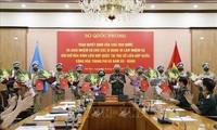 Otros 10 oficiales de Vietnam se incorporan a las misiones de paz de la ONU