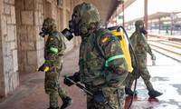 España moviliza fuerzas militares para el control del covid-19