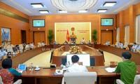 Inauguran la 48 reunión del Comité Permanente del Parlamento vietnamita