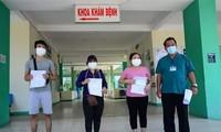 Más pacientes recuperados del covid-19 en Da Nang y Quang Tri