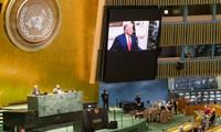 Grandes países emiten sus mensajes en la Asamblea General de la ONU