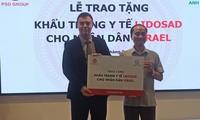 Empresa vietnamita dona al pueblo israelí mascarillas sanitarias