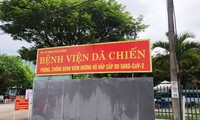 Covid-19: Disolverán el hospital de campaña de Hoa Vang, en Da Nang
