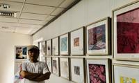 Exposición de pinturas de Truyen Kieu, una visión novedosa del pintor Nguyen Tuan Son