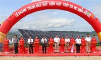 Inauguran en Ninh Thuan planta solar fotovoltaica de más de 43 millones de dólares en inversiones