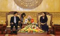 Presidente de la Asamblea Nacional de Corea del Sur en la provincia vietnamita de Ninh Binh
