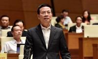 Inician las audiencias de miembros del Gobierno de Vietnam ante la Asamblea Nacional