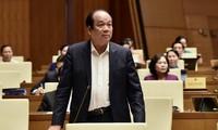 Miembros del Gobierno vietnamita continúan con audiencias ante el Parlamento