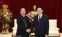 Ponderan los aportes de la comunidad católica al desarrollo de la capital vietnamita