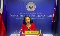 Filipinas llama a la Asean a mantener la Unclos y completar un código de conducta en el Mar del Este