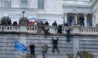 Líderes mundiales condenan el violento ataque a la sede del Congreso estadounidense