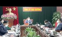 Provincia de Hai Duong aplica el distanciamiento social contra el covid-19
