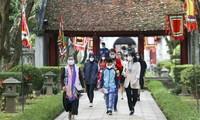 Hanói: más de cien mil visitantes durante las vacaciones del Tet