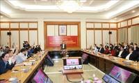 Líder político de Vietnam asiste a la conferencia de consulta ciudadana sobre candidatos al Parlamento
