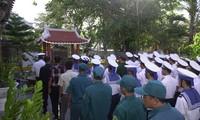 Rinden homenaje a los mártires en la batalla de Gac Ma