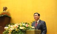 Evalúan de exitoso el undécimo periodo de sesiones de la Asamblea Nacional de Vietnam