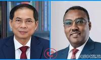 Vietnam y Etiopía afianzan relaciones bilaterales