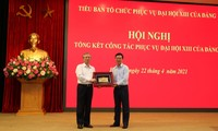 Valoran las contribuciones del Subcomité de Servicios al XIII Congreso del Partido Comunista de Vietnam