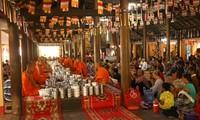 Los jemeres en Soc Trang contentos con las abundantes cosechas y la fiesta tradicional