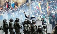 Crece el repudio mundial contra la violencia en Colombia