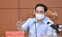 Premier vietnamita convoca reunión urgente con seis provincias fronterizas del suroeste sobre la lucha anti-covid-19