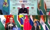 Cancilleres de BRICS decididos a promover y reformar el sistema multilateral