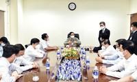 Premier vietnamita dirige la reunión sobre covid-19 con ocho provincias del sur