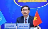 Canciller vietnamita pide tomar medidas globales para la ciberseguridad