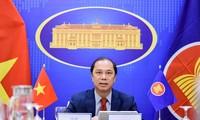 Celebran Conferencia de Altos Funcionarios del Foro de Cooperación Regional de la Asean
